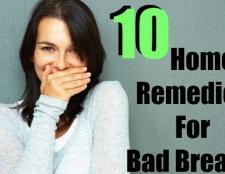 10 remèdes à la maison pour la mauvaise haleine