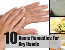 10 Accueil recours pour les mains sèches