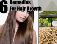 10 Accueil recours pour la croissance des cheveux