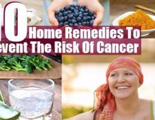 10 remèdes à la maison pour prévenir le risque de cancer