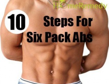10 étapes pour atteindre six pack abs