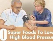 10 super-aliments pour abaisser la pression artérielle élevée