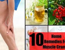 Top 10 remèdes maison pour les crampes musculaires