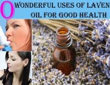 10 utilisations merveilleux d'huile de lavande pour une bonne santé