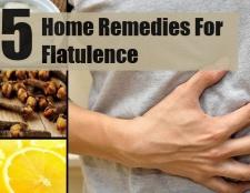 5 Accueil recours pour les flatulences