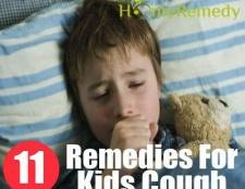 11 remèdes efficaces à domicile pour les enfants contre la toux