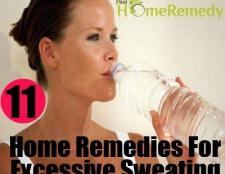 11 remèdes à la maison pour la transpiration excessive