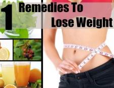11 remèdes à la maison pour perdre du poids
