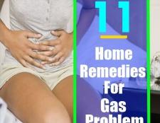 11 Accueil remèdes pour traiter votre problème de gaz