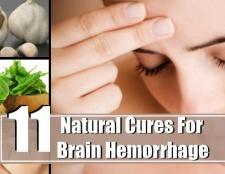 11 remèdes naturels les plus efficaces pour une hémorragie cérébrale