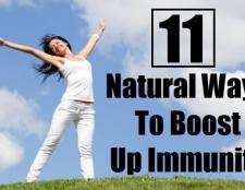11 façons naturelles pour stimuler l'immunité