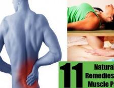 11 remèdes naturels Top pour les douleurs musculaires