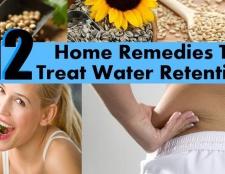 12 remèdes maison facile à traiter la rétention d'eau