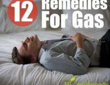 12 remède à base de plantes pour le gaz
