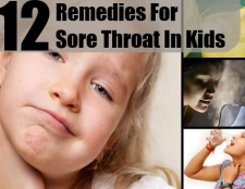 12 Accueil recours pour les maux de gorge chez les enfants