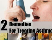 12 Accueil recours pour le traitement de l'asthme