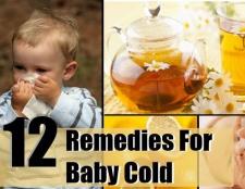 Top 12 remèdes maison pour bébé froide