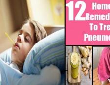 Top 12 remèdes maison pour traiter la pneumonie