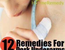 12 remèdes maison énormes pour guérir aisselles sombres