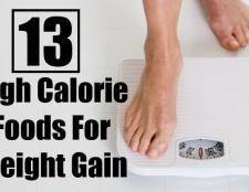 13 aliments riches en calories pour un gain de poids