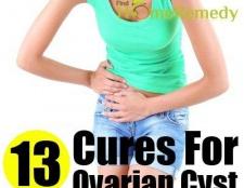 13 Des remèdes naturels pour kyste ovarien