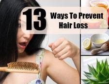 13 façons de prévenir la perte de cheveux