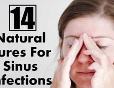 14 Des remèdes naturels pour les infections des sinus