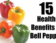 15 avantages pour la santé étonnante de poivron