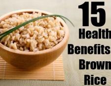 15 Excellentes prestations de santé de riz brun