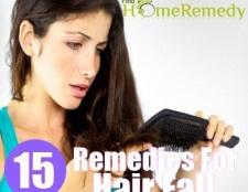 15 Accueil recours pour la chute des cheveux