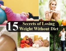15 Secrets de perdre du poids sans régime