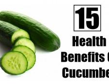 15 prestations de santé merveilleux de concombre