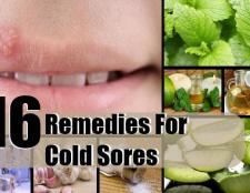 16 remèdes efficaces à domicile pour l'herpès labial
