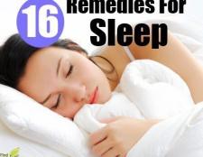 16 remèdes à la maison pour le sommeil
