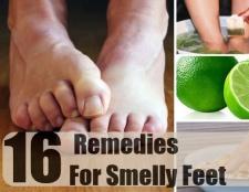 16 Accueil recours pour les pieds malodorants