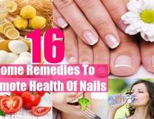 16 Accueil recours pour promouvoir la santé des ongles et prévenir les ongles fragiles et cassants