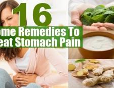 16 Accueil remèdes pour traiter les maux d'estomac