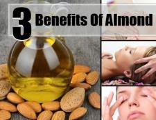 3 Divers avantages de l'huile d'amande