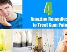 4 remèdes étonnants pour traiter la douleur des gencives