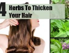4 meilleures herbes pour épaissir vos cheveux