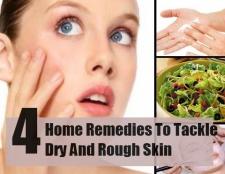 4 Accueil remèdes pour lutter contre la peau sèche et rugueuse