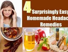 4 étonnamment facile les maux de tête maison