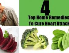 4 Top remèdes maison pour guérir une crise cardiaque