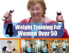 4 Poids de formation pour les femmes de plus de 50