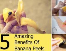5 avantages étonnants de pelures de banane
