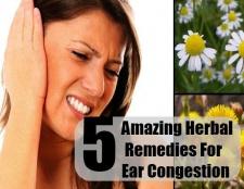 5 remèdes étonnants pour la congestion de l'oreille