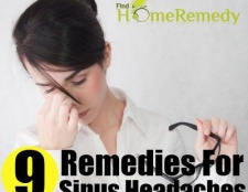5 remèdes surprenantes pour des maux de tête de sinus