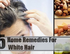 5 remèdes maison étonnants pour les cheveux blancs