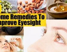 5 remèdes maison étonnants pour améliorer la vue