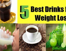 5 meilleures boissons pour la perte de poids